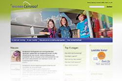 Website www.wonencentraal.nl